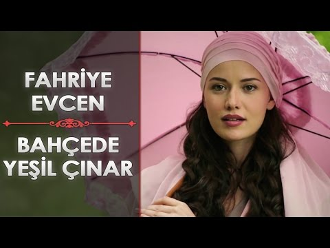 "Fahriye Evcen - Bahçede Yeşil Çınar ""A sycamore in the garden"" (English Subtitle)"