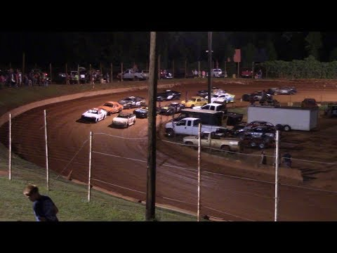 Winder Barrow Speedway Stock 4 Cylinders B's Feature Race  7/27/19
