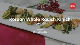 Kimjang Project: Korean Whole Radish Kimchi