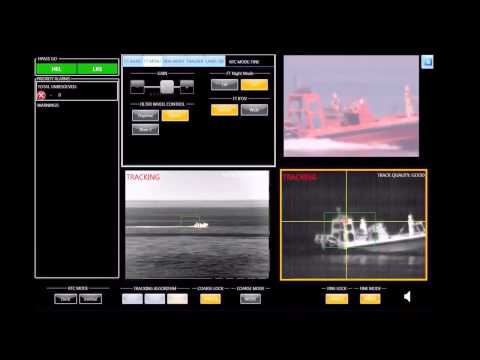 Office Of Naval Research - Laser Weapon System (LaWS) Live Firing Onboard USS Ponce 1080p