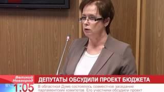 В Думе обсудили проект регионального бюджета