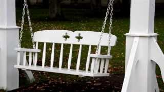 1160 Bench Swing And Tree Branch