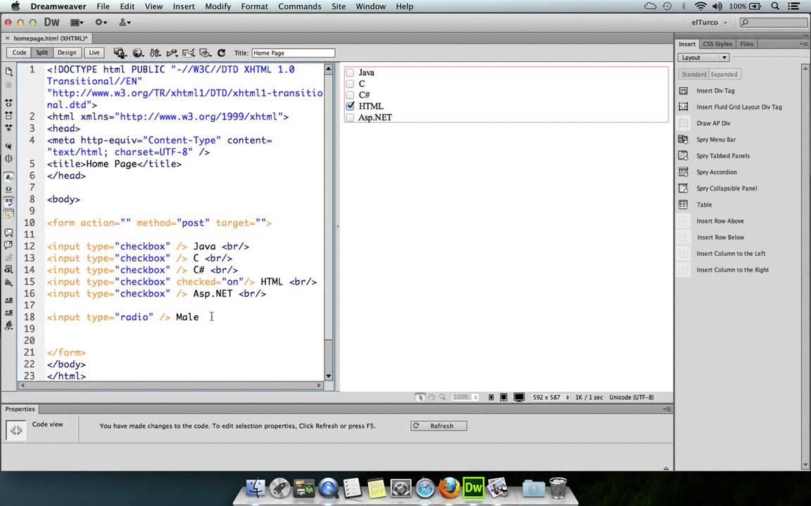 Как сделать радио на сайте html ютуб видеохостинг маргарита терехова