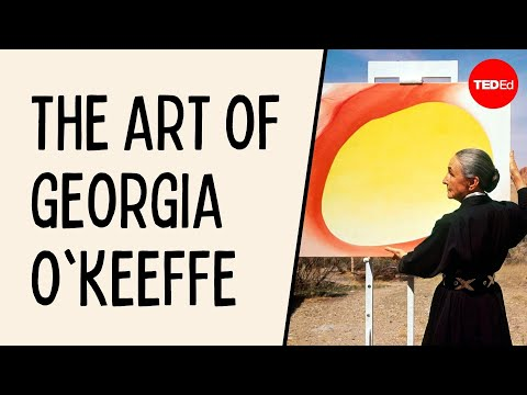 Video image: How to see more and care less: The art of Georgia O'Keeffe - Iseult Gillespie