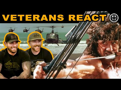 Veterans React to MILITARY Movies