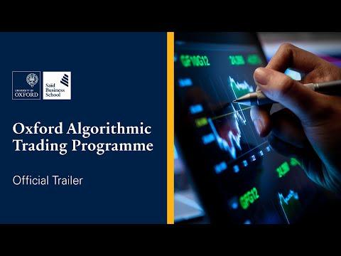 Oxford Algorithmic Trading Programme | Trailer