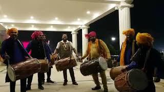 Best Punjabi Dhol Bhangra Party for show and Wedding 09891478560 Delhi Gurgaon Delhi Bhiwadi Neemran