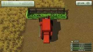 Farming Simulator 2013 ч24 - Ну оочень крутая жатка(Забросив все дела, товарищей по пьянкам и суетную жизнь в городе, я отправляюсь на ферму, что завещал мне..., 2015-04-12T11:00:01.000Z)