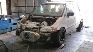 Honda Odyssey Minivan Makes 1000WHP
