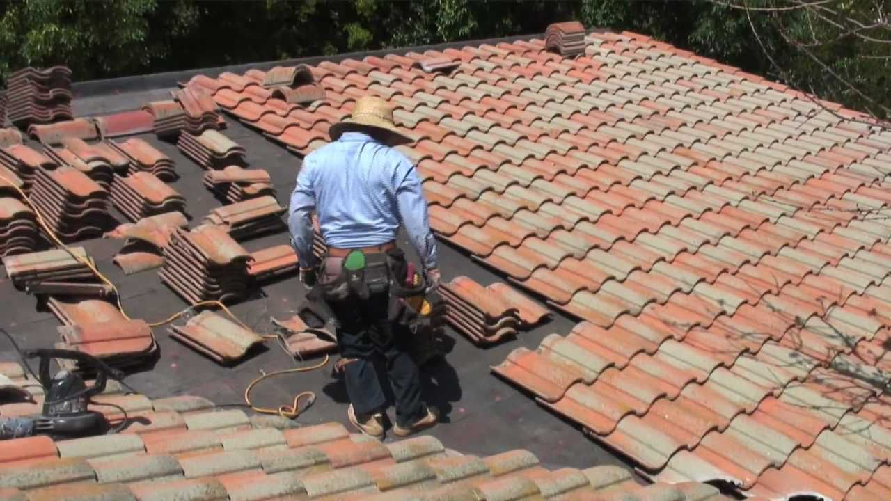Modern Roofing Tile Roofing Install Youtube