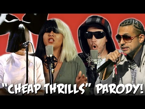 "Sia ""Cheap Thrills"" ft. Sean Paul PARODY! The Key of Awesome UNPLUGGED!"