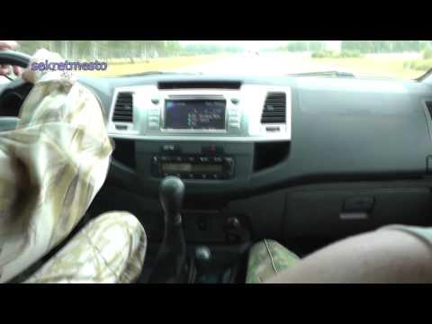 Тест Драйв ТОЙОТА ХАЙЛЮКС: видео тест драйва автомобиля