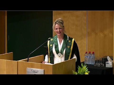 2016 John Curtin Medal Award Ceremony - Dr Ann O