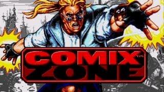 Comix Zone gameplay - Полное прохождение