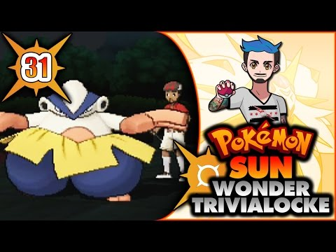 31 | WHY DO YOU USE FLAME ORB ON YOUR HARIYAMA? | Pokémon Sun Wonder Trivialocke