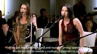 The Corrs-Only When I Sleep (MTV Unplugged subtitulado al español)