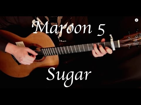 Kelly Valleau - Sugar (Maroon 5) - Fingerstyle Guitar