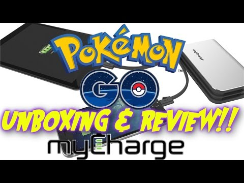 Pokemon Go My Charge Ultra HUB Unboxing & Review!!!!!