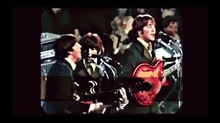 The Beatles- Nowhere Man (Live) in color!