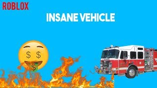 I Bought The New FIRETRUCK! *Insane* - Roblox Jailbreak