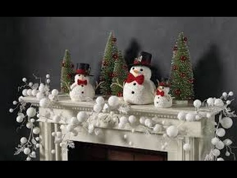 40 ideas para decorar tu chimenea en navidad youtube - Chimeneas para decorar ...