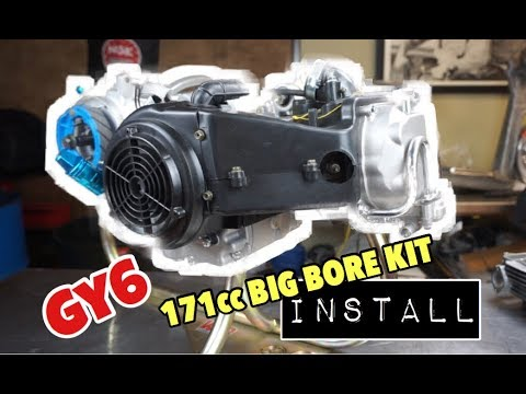 How to install a big bore kit GY6 171cc (61mm)  EVERYTHING YOU NEED TO KNOW!