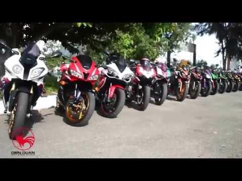 TTGX Phong trào chơi moto phân khối lớn tại TP Cần Thơ
