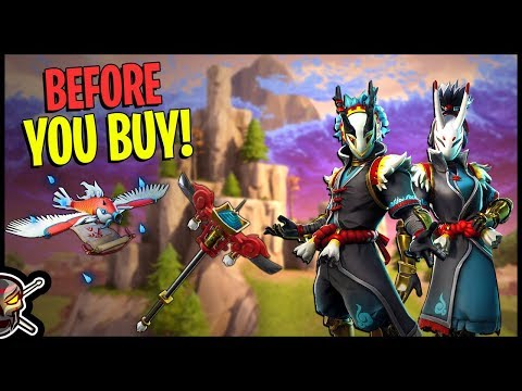 Taro | Nara | Gatekeeper | Flying Carp Glider - Before You Buy - Fortnite