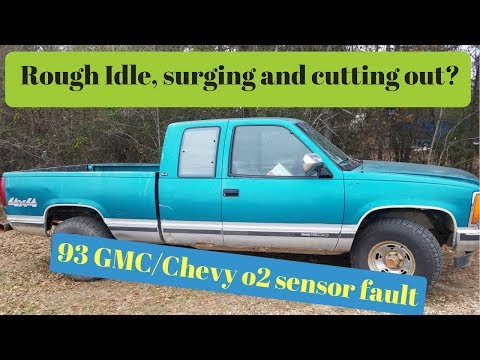 1993 GMC/Chevy 5 7 surging, rough idle,cutting out 02