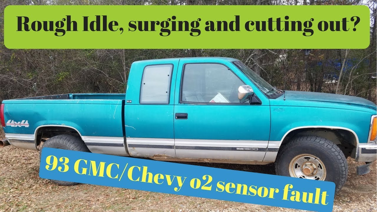 1993 Gmc Chevy 57 Surging Rough Idlecutting Out 02 Problem Youtube 1990 Silverado Fuel Filter Location