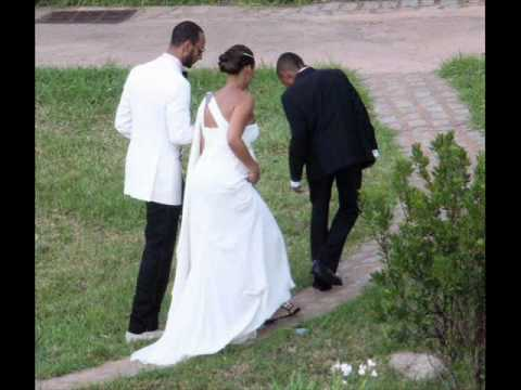 Alica Keys and Swizz Beatz Wedding Photos
