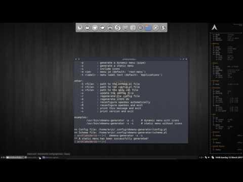 Openbox menu not updating