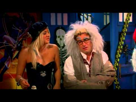 The Big Bang Theory: Leonard explains Penny the Theory of Relativity