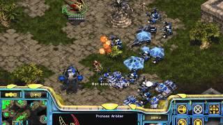 Starcraft Brood war Protoss vs Terran in Fighting Spirit 1 3