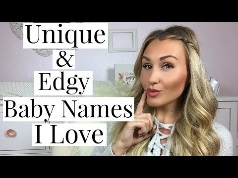 MORE KIDS?! 10 BABY NAMES I LOVE AND MAY USE! | Unique & Edgy Names | Tara Henderson