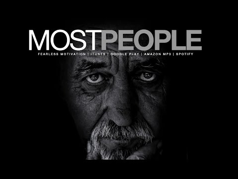"""Most People"" Motivational Video For The Minority"