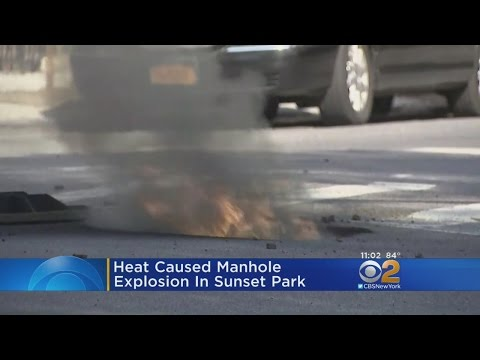 Weather Likely Causes Manhole Fire In Brooklyn