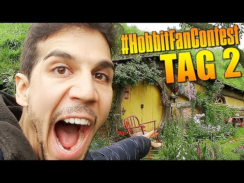 Roomtour im AUENLAND #HobbitFanContest Tag 2 - In Hobbiton! #DanieleThe Hobbit
