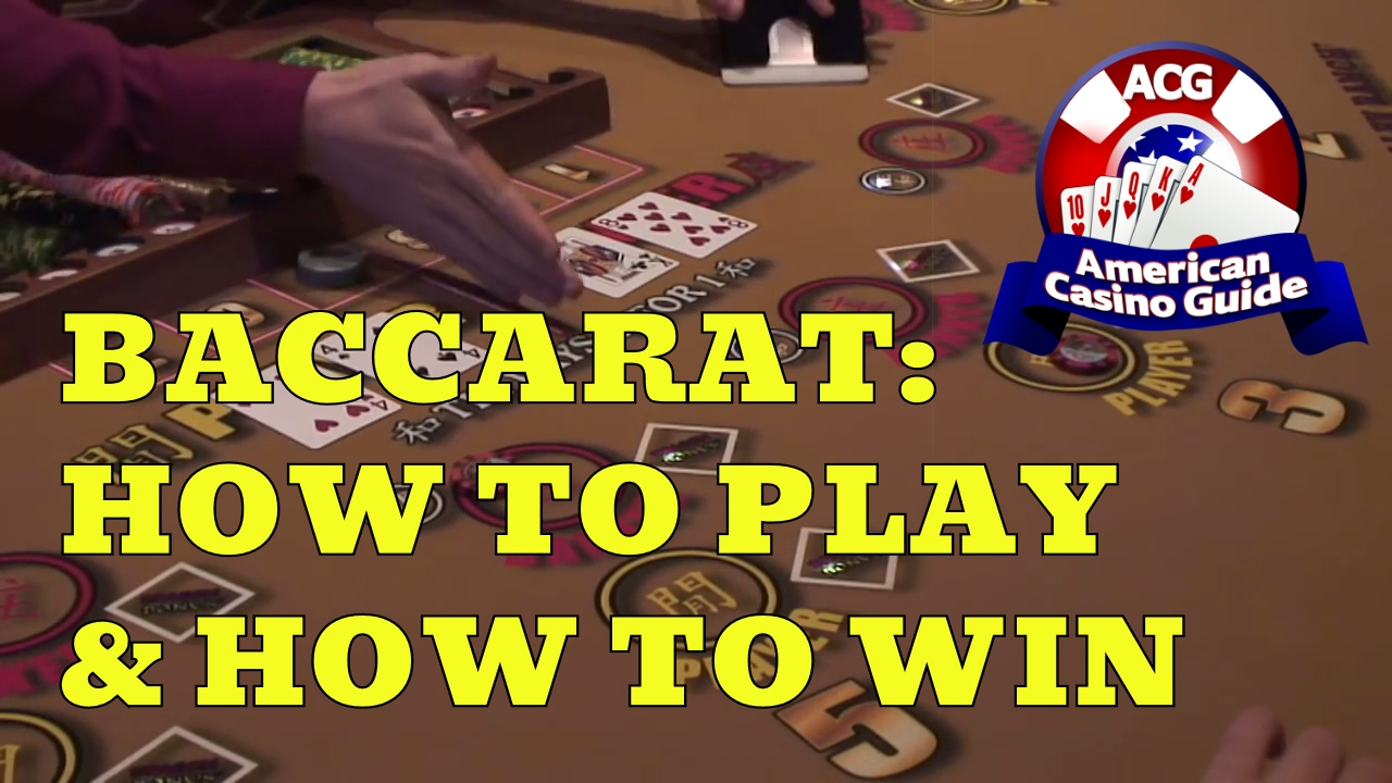 Baccarat - How to Play & How to Win! - YouTube