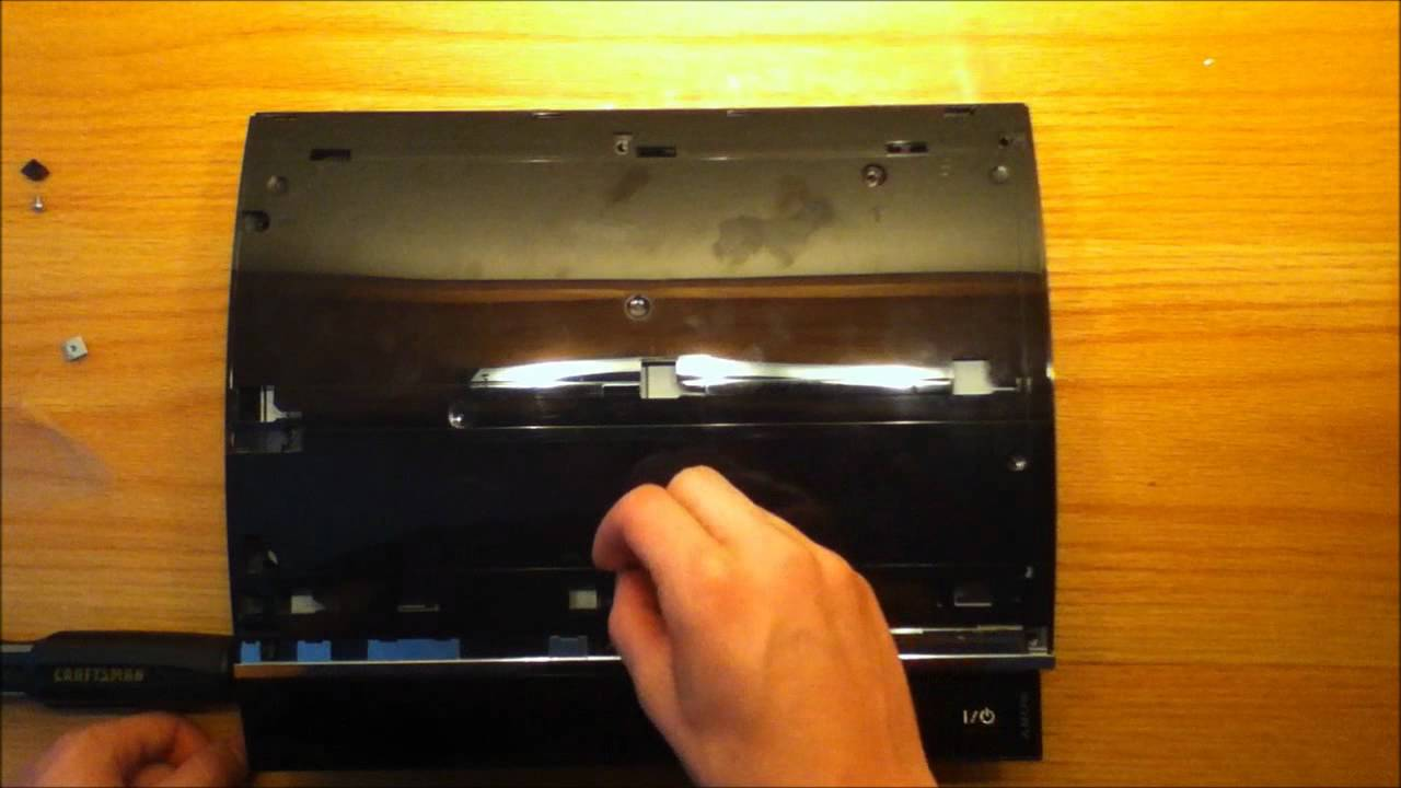 How to open a Sony PS3 60GB system
