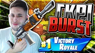 ΝΙΚΗ ΜΟΝΟ ΜΕ ΓΚΡΙ BURST CHALLENGE! (Fortnite Battle Royale)