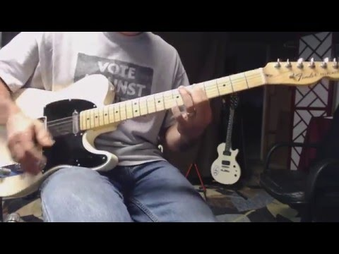 Hand of Fate - Rolling Stones (rhythm guitar cover - open G)