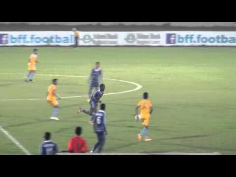 Kingsley Chigozie 32 (Nigeria) Federation Cup Football 2015.