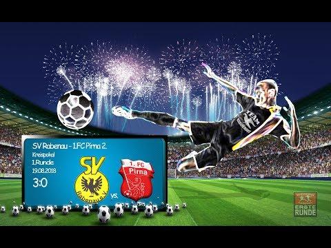 2018-08-19 / Kreispokal / 1. Runde / SV Rabenau-1. FC Pirna 2.
