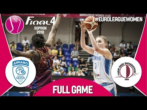 LIVE🔴- Dynamo Kursk (RUS) v Yakin Dogu Universitesi (TUR) - 3rd Place - Euroleague Women 2017-18