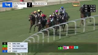 Vidéo de la course PMU STARTER OPTIONAL CLAIMING 1700M