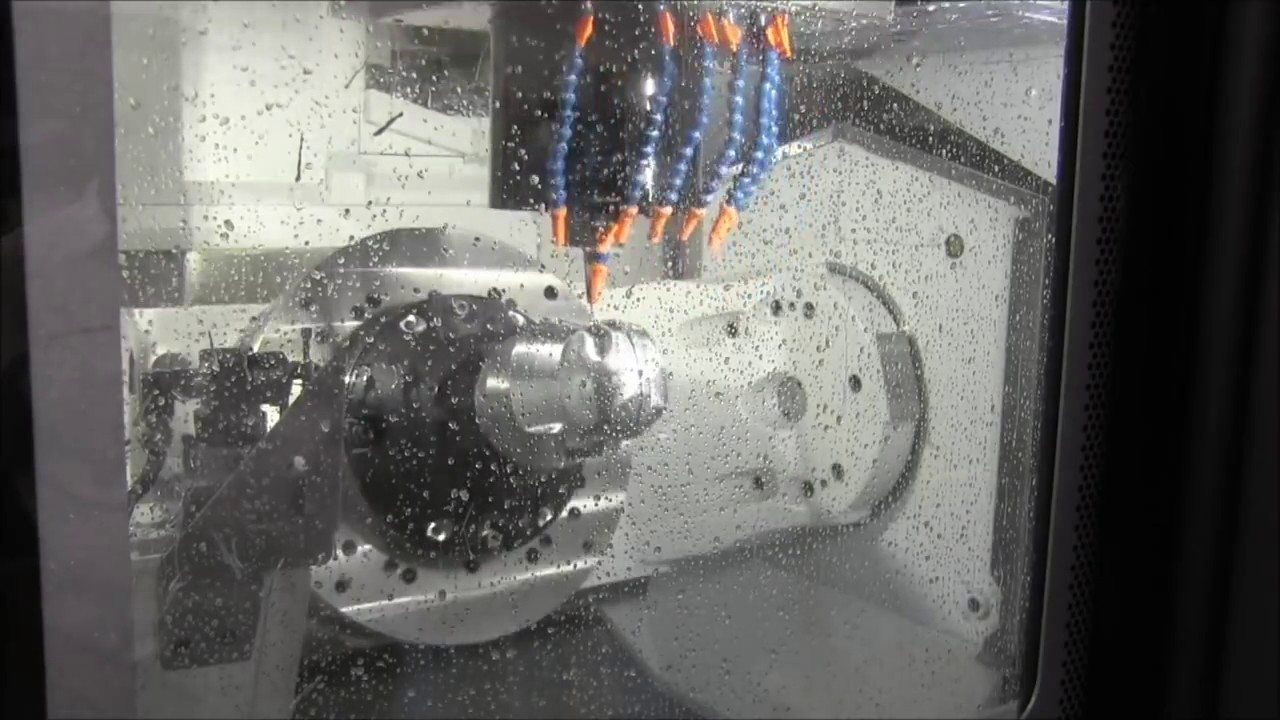 Darth Vader Profile Machining On V M C 5 Axis