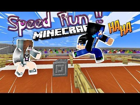 [Minecraft SpeedRun]-AI SẼ LÀ NGƯỜI CHẠY NHANH NHẤT ?!? W/HuyĐX
