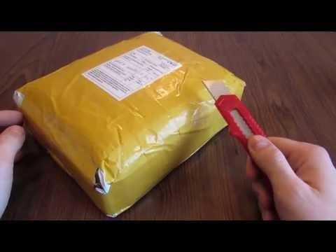 Распаковка посылки из