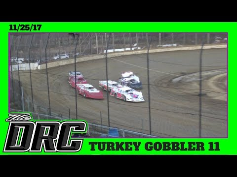 Moler Raceway Park | 11/25/17 | Turkey Gobbler | Late Models | Heat 1